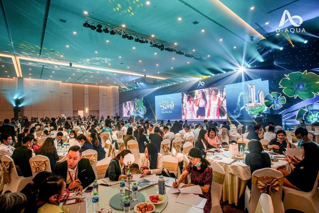 Giới thiệu D-AQUA thu hút 1000 khách tham dự