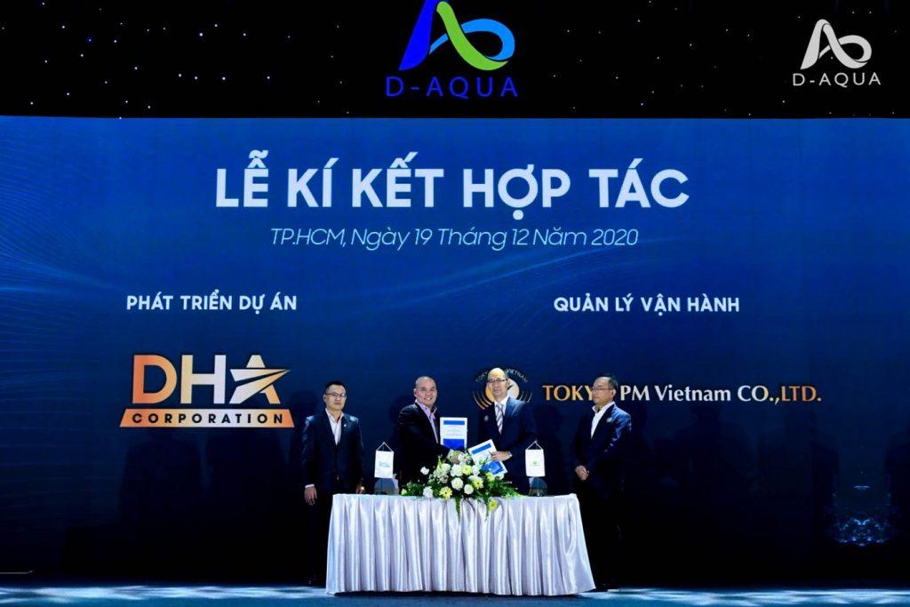 D-AQUA ký kết hợp tác